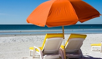 Оферта за една различна почивка в Гърция - Alexandros Palace Hotel Suites, безплатни чадър и шезлонги на плажа, закуска и вечеря за една нощувка / 15.05.2017 - 29.05.2017