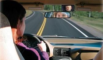 Огледало за наблюдение на бебе в колата