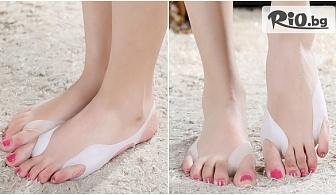 Олекотено силиконово чорапче или Силиконови шини за изправяне на изкривени кости, от Hipo.bg