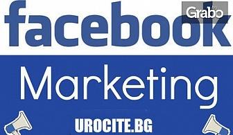 Онлайн курс по Facebook маркетинг с 12-месечен достъп до платформата