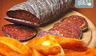 Опитайте нашето вкусно предложение на страхотна цена! Сръбска колбасица и пикантни картофи в сръбски ресторант Зафо
