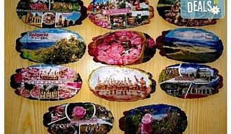 Оригинален подарък за всеки повод! Магнит с дизайн и снимка на клиента от Хартиен свят!