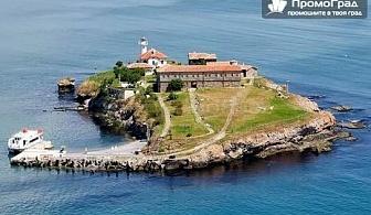 До остров Св. Анастасия, Созопол, замъка Влюбен във вятъра и Фестивала на пясъчните скулптури