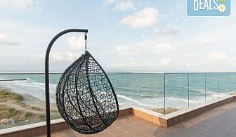 Открийте летния сезон с почивка в Дюн Бутик Хотел 4* в Поморие! 2 нощувки в студио или апартамент, ползване на паркинг и интернет!