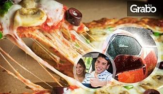 63% отстъпка за VIP измиване на лек автомобил или джип, плюс вкусна пица
