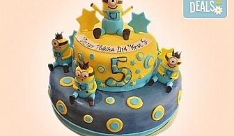 Party торта с фигурална 3D декорация за деца и възрастни от Сладкарница Джорджо Джани