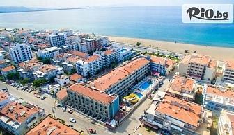 На първа линия на морето в Айвалък, Турция! 5 нощувки на база All Inclusive в Хотел BUYUK BERK 4*, със собствен транспорт, от Теско груп