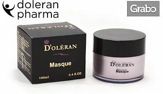 Първокласна натурална българска козметика със стволови клетки D'oléran - шампоан с арганово масло, крем или маска за лице