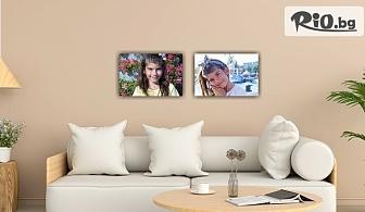 Печат на снимка или колаж с размери 20/30 см върху канава, от Аликод