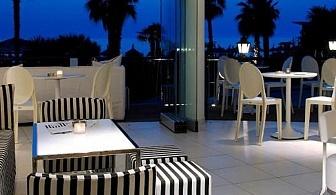 Петзвездна почивка на Тасос в хотел Ilio Mare за една нощувка, закуска, вечеря и частен пясъчен плаж / 01.05.2017 - 10.06.2017