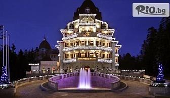 Петзвездна СПА почивка в Боровец! Нощувка със закуска + СПА и басейн, в Хотел Феста Уинтър Палас 5*
