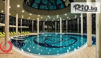 Петзвездна СПА почивка в Павел баня! Нощувка със закуска за ДВАМА + СПА, външен и вътрешен басейн, от Балнеохотел Диана Мар 5*