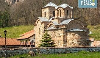 На 11.05. до Пирот и Цариброд с посещение на Погановски и Суковски манастири, транспорт и екскурзовод от агенция Поход!