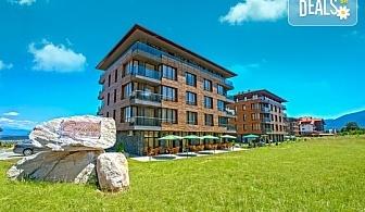 Планински релакс в Бутиков хотел Корнелия 3*, Банско! Нощувка със закуска и вечеря в апартамент или студио, позлване на релакс зона и вътрешен басейн, безплатно за деца до 5.99 г.