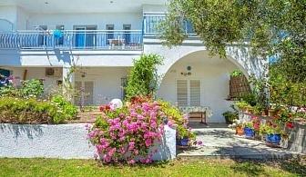 Плащате само нощувка, а получавате закуска и вечеря, във Faros Apartments - Касандра, за ТРИ нощувки, паркинг и интернет / 24.05.2019 - 08.06.2019