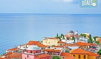 На плаж и екскурзия до Кавала, Гърция! 2 нощувки в Oceanis Hotel 3*, транспорт и възможност за посещение на о. Тасос!