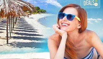 На плаж в Неа Перамос с еднодневна екскурзия до Кавала през юли или август, транспорт и екскурзовод от Еко Тур!