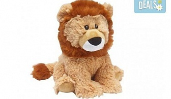Плюшен нагряващ се Лъв от Warmies