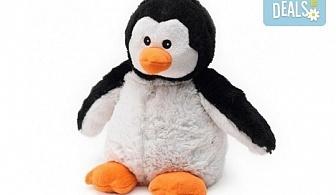 Плюшен нагряващ се Пингвин Cozy Plush Pengiun Warmies