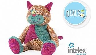 Плюшена нагряваща се Котка Warmies Cat от Intelex