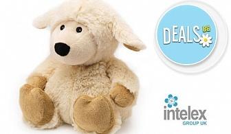 Плюшена нагряваща се Овца Cozy Plush Sheep от Intelex