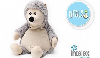 Плюшено нагряващо се Таралежче Cozy Plush Hedgehog от Intelex