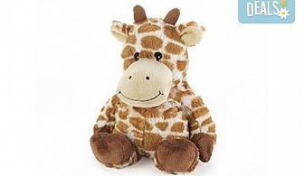 Плюшено нагряващo се Жирафче Cozy Plush Giraffe от Intelex