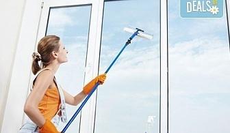 Почистване на прозорци на входове плюс почистване на общите части, до 8 етажа от Професионално почистване ЕТ Славия!