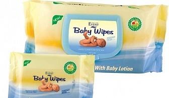 Почистващи кърпи Event Baby с Невен