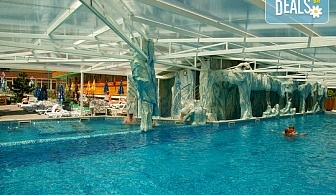 Почивайте в Балнеохотел Аура 3*, Велинград! Нощувка със закуска,обяд и вечеря, ползване на уелнес пакет - минерални басейни, контрастен басейн, сауна, парна баня и тропически душ, безплатно за дете до 3.99 г.