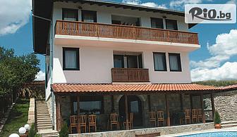 Почивка в Арбанаси през Август! 2 или 3 нощувки със закуски и вечери + външен басейн, от Семеен хотел Арбанашка среща