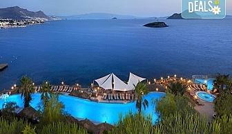 Почивка в Бодрум, Турция, септември/ октомври! 1 нощувка на база Ultra All Inclusive в Kadikale Resort & SPA 5*, възможност за транспорт