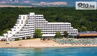 Почивка на брега на морето в Албена! Нощувка на база All Inclusive + чадър и шезлонг на плажа, от Хотел Гергана 4*