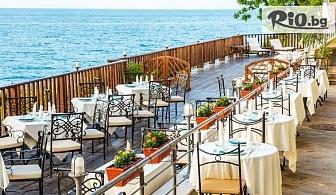 Почивка на брега на морето в Созопол през ТОП сезона! Нощувка със закуска и вечеря /по избор/ + закрит басейн и фитнес, от Хотел Корал 3*