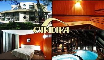 Почивка в Девин! Нощувка със закуска + басейн с минерална вода, парна баня и сауна в Хотел Евридика!