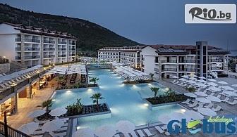 Почивка в Дидим, Турция през Септември и Октомври! 5 или 7 нощувки на база All Inclusive в RAMADA DIDIM and AQUAPARK 4*, със собствен транспорт, от Глобус Холидейс