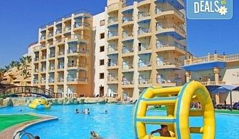 Почивка в Египет! 7 нощувки All Inclusive в Sphinx Aqua Park Beach Resort 4*, Хургада, самолетен билет с директен чартърен полет и трансфери