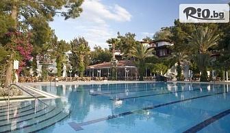 Почивка във Фетие, Турция! 7 нощувки на база Ultra All Inclusive в Club Hotel Letoonia 5* + басейн и СПА, от Енджой Травел