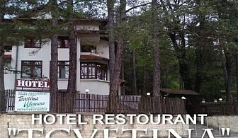 Почивка в Габровския Балкан! Нощувка със закуска и вечеря от хотел Цветина
