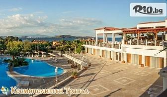 Почивка на Халкидики, Атон през Май и Септември! 3 или 5 нощувки със закуски и вечери в Alexandros Palace Hotel and Suites 5* + 2 открити и 1 закрит отопляем басейн, от Космополитън Травъл