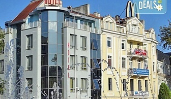 Почивка в хотел City Mark, Варна: 1 нощувка на човек в двойна стая, дете до 6.99 г. - безплатно настанено!