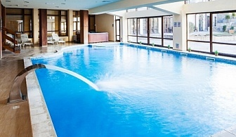 Почивка в Хотел Св. Георги Ски & Спа, Банско с до 30% намаление! Нощувка със закуска и вечеря + включени напитки + ползване на басейн и уникален спа център!