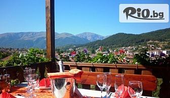Почивка в Калофер до края на Август! Нощувка със закуска и вечеря, от Хотел Панорама 3*