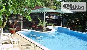 Почивка край Албена до края на Август! Нощувка със закуска за ДВАМА + басейн и тенис корт, от Хотелски комплекс Рай 3*