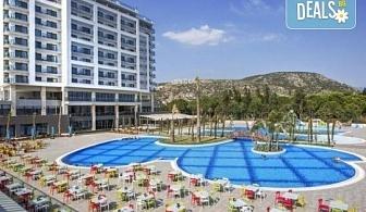 Почивка в Кушадасъ, Турция, в луксозния хотел Amara Sealight Elite 5*, с Глобус Холидейс! 4, 5 или 7 нощувки на база 24 Н Ultra All Inclusive, безплатно за дете до 12.99г.