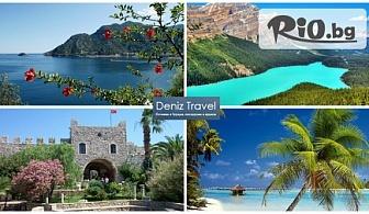 Почивка в Мармарис със собствен транспорт! 7 нощувки със закуски, обеди, вечери и напитки в Aegean Park Hotel 3*, от Дениз Травел