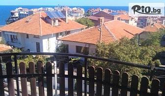Почивка на 100 метра от плажа в Созопол през Септември! Нощувка със закуска, обяд и вечеря, по избор с напитки, от Семеен хотел Слънце - VIP зона