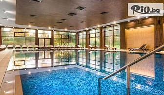 Почивка в Павел баня! Нощувка със закуска и вечеря + Релакс зона с вътрешен минерален басейн, от Хотел Севтополис Медикал and СПА
