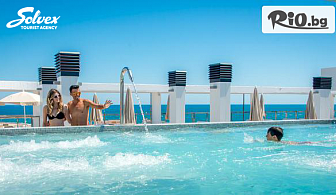 Почивка на Портокаловия бряг през Септември! 7 нощувки, закуски, обеди и вечери във Vinaros Playa 4* + самолетни билети, летищни такси, панорамна обиколка на Барселона, от Солвекс
