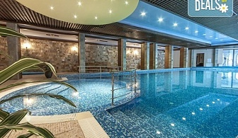 Почивка през есента в Апартаментен хотел Гранд Рояле 4*, Банско! Нощувка със закуска и вечеря, ползване на закрит басейн, арома сауна и парна баня, безплатно за дете до 2.99г.!